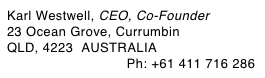 Karl Westwell, CEO, Co-Founder