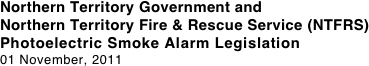 Northern Territory Government and 