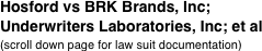 Hosford vs BRK Brands, Inc;