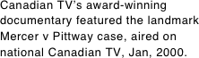 Canadian TV's award-winning
